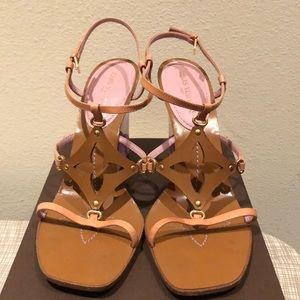 Louis Vuitton wedges